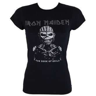 t-shirt metal women's Iron Maiden - The Book Of Souls - ROCK OFF - IMDMTS02LB