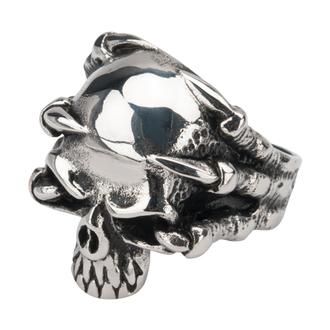 ring INOX - SKULL, INOX