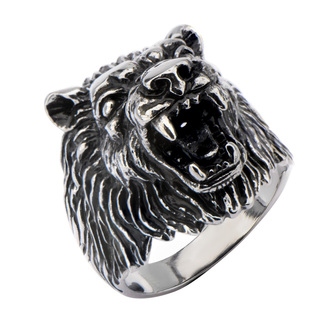 ring INOX - BIG WOLF BLACK, INOX
