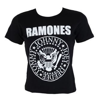 t-shirt metal women's Ramones - Seal - ROCK OFF, ROCK OFF, Ramones