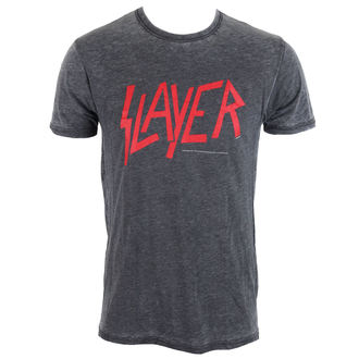 t-shirt metal men's Slayer - CLASSIC LOGO - ROCK OFF, ROCK OFF, Slayer