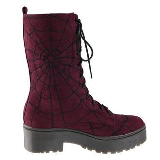 wedge boots women's - Walking In My Web - IRON FIST