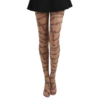 Tights PAMELA MANN - Barbed Wire Tattoo - PM1016