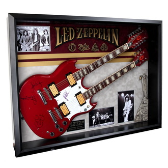 signed guitar Led Zeppelin - ANTIQUITIES CALIFORNIA - 136945