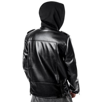 leather jacket - Ryder Moto Biker - KILLSTAR, KILLSTAR