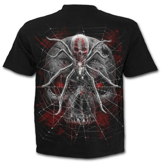 T-Shirt men's - SPIDER SKULL - SPIRAL - D073M101