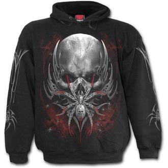 hoodie men's - SPIDER SKULL - SPIRAL, SPIRAL