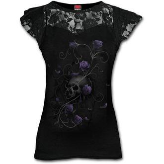 t-shirt women's - ENTWINED SKULL - SPIRAL - D072F721
