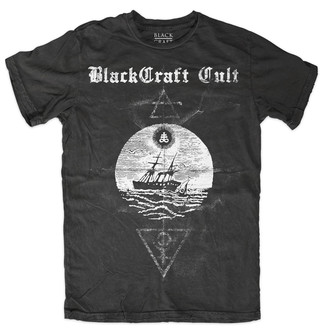 t-shirt men's - Satanic Seas - BLACK CRAFT - MT135SS