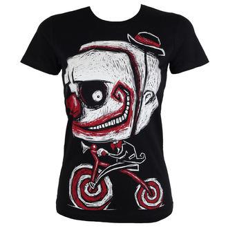 t-shirt hardcore women's - Creep The Clown - Akumu Ink, Akumu Ink