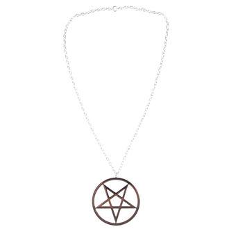 collar ETNOX - Big Plain Pentagram - SK4102A