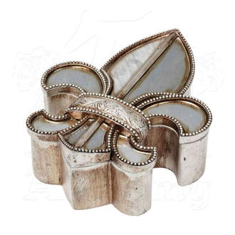 Decoration (jewelry box) ALCHEMY GOTHIC - Fleur De Lys, ALCHEMY GOTHIC