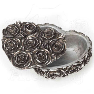 Decoration (jewelry box) ALCHEMY GOTHIC - Rose Heart - SA8