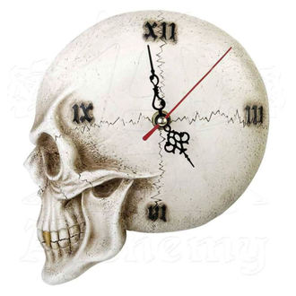 Clock ALCHEMY GOTHIC - Tempore Mortis Skull - V32