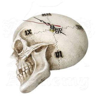 Clock ALCHEMY GOTHIC - Tempore Mortis Skull, ALCHEMY GOTHIC