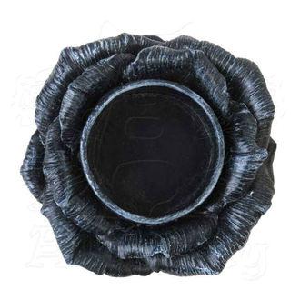 Decoration (candlestick) ALCHEMY GOTHIC - Black Rose, ALCHEMY GOTHIC