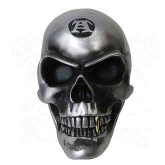 Decoration - ALCHEMY GOTHIC - Metalised Alchemist Skull, ALCHEMY GOTHIC