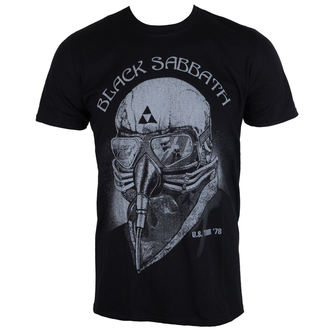 t-shirt metal men's Black Sabbath - Black - ROCK OFF - BSTTRTW01MB