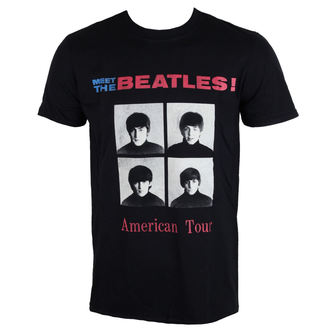 t-shirt metal men's Beatles - American Tour 1964 - ROCK OFF, ROCK OFF, Beatles