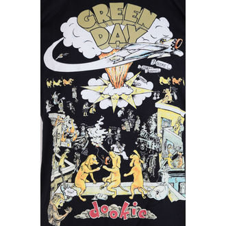 t-shirt metal men's Green Day - Black - ROCK OFF, ROCK OFF, Green Day