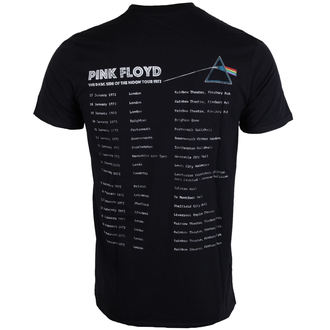 t-shirt metal men's Pink Floyd - Dark Side of the Moon 1972 Tour - ROCK OFF, ROCK OFF, Pink Floyd
