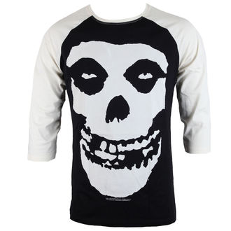 t-shirt metal men's Misfits - SKULL - LIVE NATION, LIVE NATION, Misfits