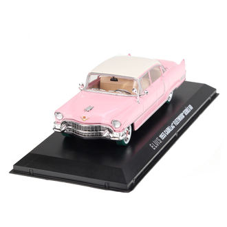 Decoration Elvis Presley - Cadillac Fleetwood - pink with white roof, Elvis Presley