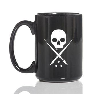 Cup SULLEN - BADGE COFFEE - BLACK / WHITE, SULLEN