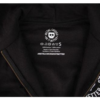 hoodie women's - Indian - METAL CHICKS DO IT BETTER - MCDIB004