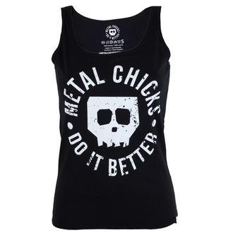 top women METAL CHICKS DO IT BETTER - Skull, METAL CHICKS DO IT BETTER