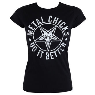 t-shirt hardcore women's - Pentagram - METAL CHICKS DO IT BETTER, METAL CHICKS DO IT BETTER