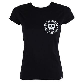 t-shirt hardcore women's - Indian - METAL CHICKS DO IT BETTER - MCDIB011