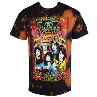 t-shirt metal men's Aerosmith - Worldtour - BAILEY, BAILEY, Aerosmith