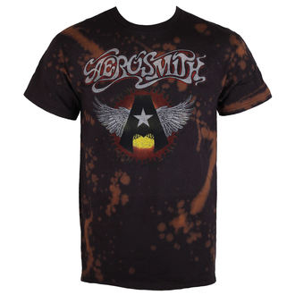 t-shirt metal men's Aerosmith - Flying A - BAILEY, BAILEY, Aerosmith