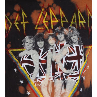 t-shirt metal men's Def Leppard - 1983 Tour - BAILEY, BAILEY, Def Leppard