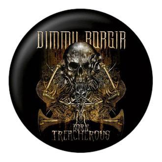 Badge  DIMMU BORGIR - Born treacherous - NUCLEAR BLAST, NUCLEAR BLAST, Dimmu Borgir