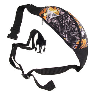 Fanny pack DOGA - Detox - Black / Yellow