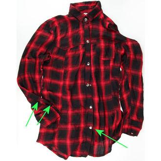 shirt women's HEARTLESS - Triant - Red - DAMAGED, HEARTLESS