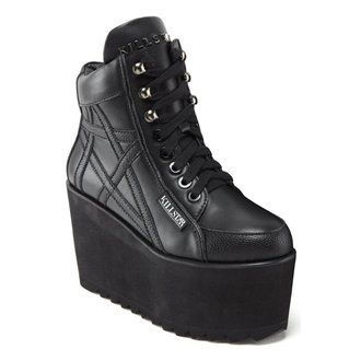 wedge boots women's - Malice - KILLSTAR, KILLSTAR