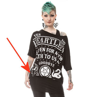 t-shirt women's - DEATH TO ALL - HEARTLESS, HEARTLESS