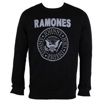 sweatshirt (no hood) men's Ramones - LOGO - AMPLIFIED, AMPLIFIED, Ramones