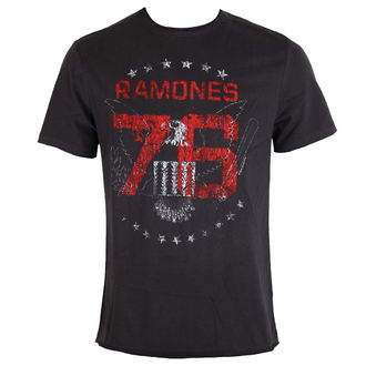 t-shirt metal men's Ramones - Charcoal - AMPLIFIED, AMPLIFIED, Ramones
