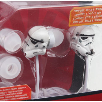 headphones Star Wars - Stormtrooper - Wht, NNM