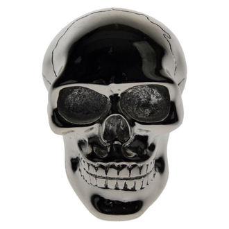 decoration -head gear lever- Silver Skull Gear - DAMAGED, Nemesis now
