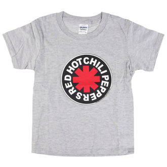 t-shirt metal men's children's Red Hot Chili Peppers - Logo in Circle Grey -, Red Hot Chili Peppers