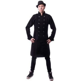 Coat men's VIXXSIN - Jaxon - Black - POI219