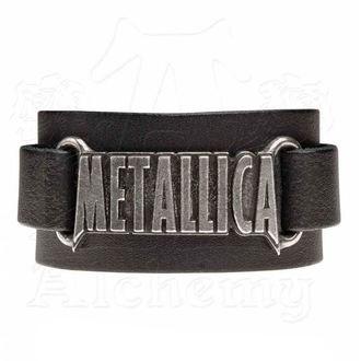 Bracelet Metallica - ALCHEMY GOTHIC - Logo, ALCHEMY GOTHIC, Metallica