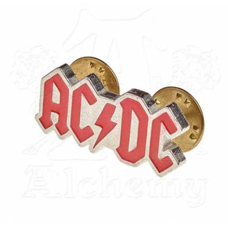 Tack AC / DC - ALCHEMY GOTHIC - Enamel Logo, ALCHEMY GOTHIC, AC-DC