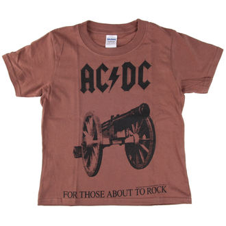 t-shirt metal men's children's AC-DC - For Those About To Rock - LOW FREQUENCY, LOW FREQUENCY, AC-DC