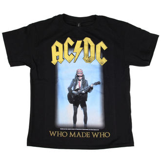 t-shirt metal men's children's AC-DC - Who Made Who - LOW FREQUENCY - ACKDS050015